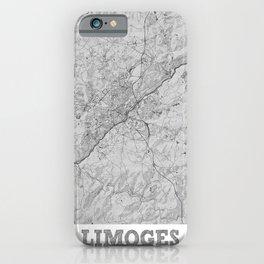 Limoges Pencil City Map iPhone Case