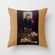 I. The Magician Throw Pillow