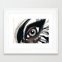 cassandra jean Framed Art Prints featuring Cassandra by M.Khouri