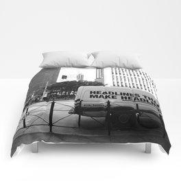 New York Post Truck, Manhattan Comforters