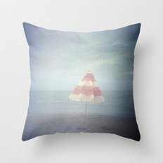 Summer ending Throw Pillow