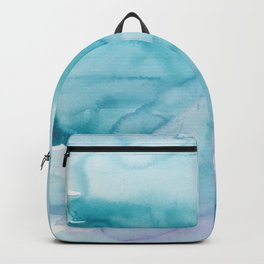 14   | Abstract Minimal Watercolor Painting | 191223 Backpack