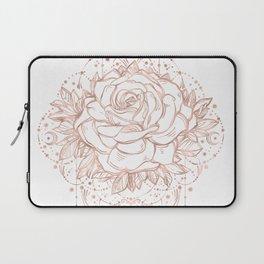 Mandala Lunar Rose Gold Laptop Sleeve