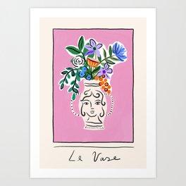 Le Vase Art Print