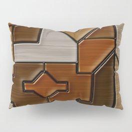 Woodwork Pillow Sham