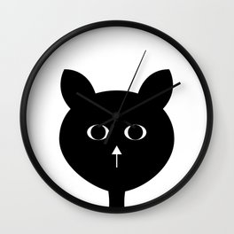 purrr Wall Clock