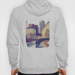 Stone Arch Bridge-Minneapolis, Minnesota Hoody
