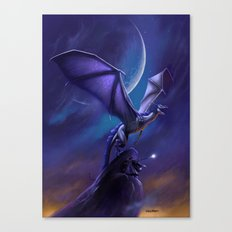 Dragon's Flight Canvas Print