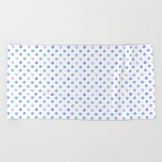Dreaming Of Polka Dots Beach Towel