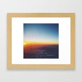 Cloudview  Framed Art Print