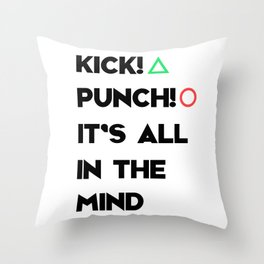 PaRappa The Rapper Throw Pillow