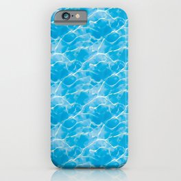 Water Graphics Pattern Inspired by The Legend of Zelda: Ocarina of Time on Nintendo 64 iPhone Case