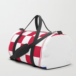 Croatia flag emblem Duffle Bag