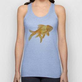 Curious Goldfish Unisex Tank Top
