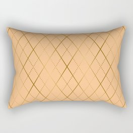 Argyle (Sand) Rectangular Pillow
