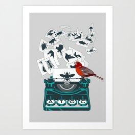Alphabet of Life Art Print