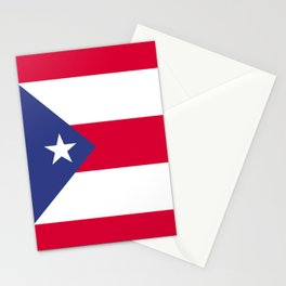 Puerto Rico flag emblem Stationery Cards