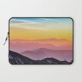 sky blue yellow orange purple Laptop Sleeve