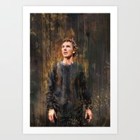 hamlet Art Prints featuring Hamlet by Wisesnail