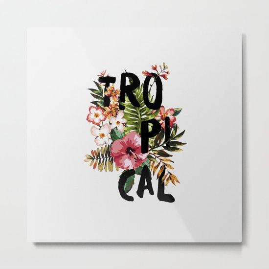 Tropical I Metal Print