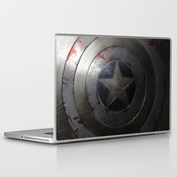 shield Laptop & iPad Skins featuring SHIELD by Bilqis
