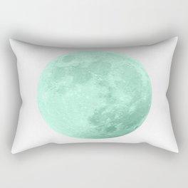 TEAL MOON Rectangular Pillow