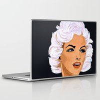 marilyn Laptop & iPad Skins featuring Marilyn by Saundra Myles