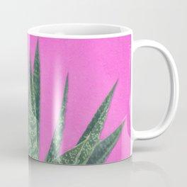 Hot Pink Succulent Coffee Mug