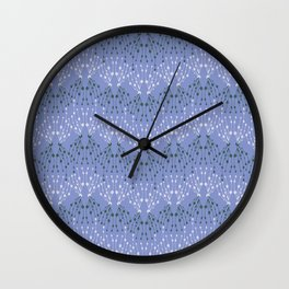 Isabella in Periwinkle Wall Clock