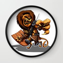 Lion-O Ultimate Wall Clock