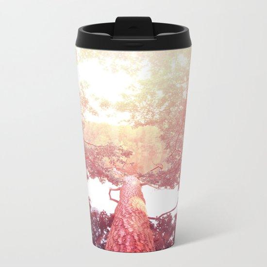 Red woods #trees Metal Travel Mug