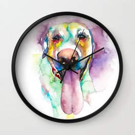 dog#24 Wall Clock