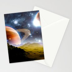 Planets >< Stationery Cards