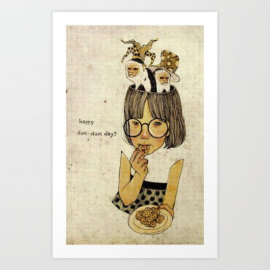 Happy April 1 st! Art Print