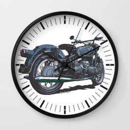BMW R50 MOTORCYCLE Wall Clock