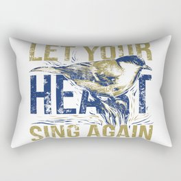 Sing again Rectangular Pillow
