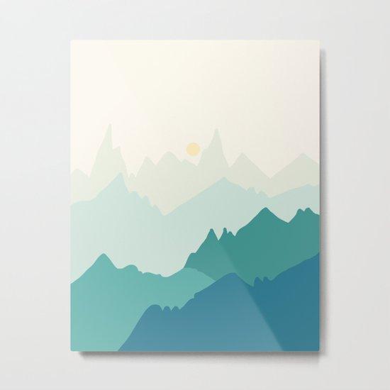 Landscape NC 11 Metal Print