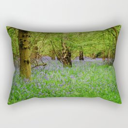 Bluebell forest Rectangular Pillow