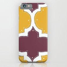 Morocco Orange & Plum iPhone 6s Slim Case