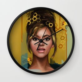 Queen B Wall Clock
