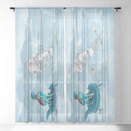 Game Sheer Curtain