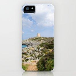 Alcaufar, Menorca. iPhone Case