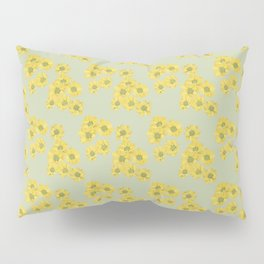 Yellow daisy pattern Pillow Sham