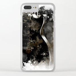 TUNED IN Clear iPhone Case