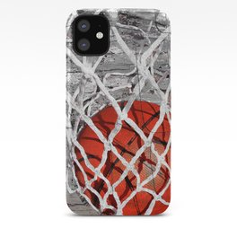 Basketball Art iPhone Case