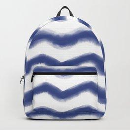 Shibori Waves #society6 #shibori Backpack