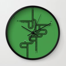 Impossible Mission Wall Clock