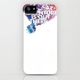 Adventure is Out there Art print iPhone Case