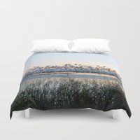 rush Duvet Covers featuring Rush Hour by Randy Sager