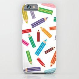 pencils iPhone Case